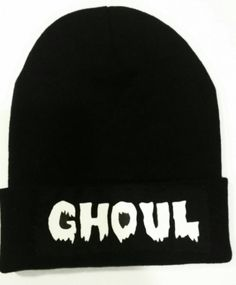 Gorrita tejida del ghoul / ropa de Halloween por CorpseCreations