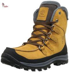 Timberland  Chillberg FTP_EK Chillberg Premium WP, Bottes de ski homme - Jaune (Wheat), 45.5 EU - Chaussures timberland (*Partner-Link)
