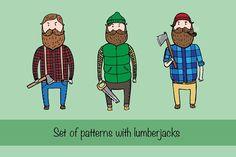 Lumberjack by merion_merion on @creativemarket