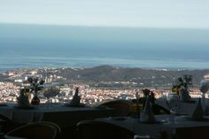 Restaurante La Alcazaba de Mijas - Spain  - the most amazing views. On. A clear day you can just see the African coast. L