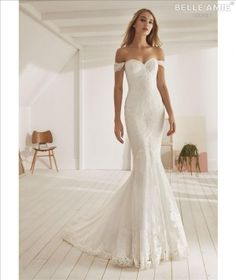 Mia Bella Couture offers the best selection of Bridal gowns in Fresno, CA and San Diego, CA. We also offer custom design bridal gowns and bridesmaids. Mermaid Skirt, Lace Mermaid, Mermaid Dresses, Mermaid Wedding, Trump Wedding, Bridal Gowns, Wedding Gowns, Off Shoulder Wedding Dress, Shoulder Dress