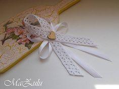 MaZulu / Vintage svadobné pierka veľké