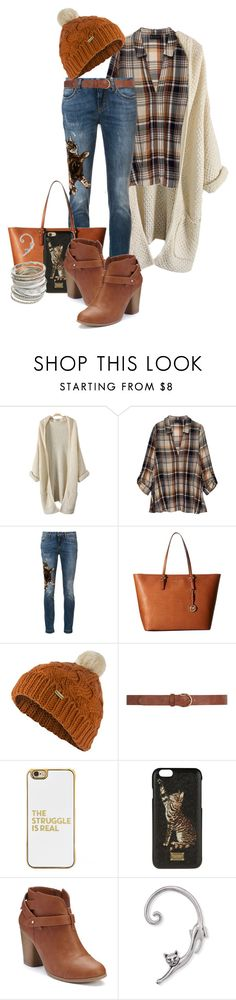 """""""Fall Fashion"""" by louvillia ❤ liked on Polyvore featuring Bobeau, Dolce&Gabbana, MICHAEL Michael Kors, Barbour, Dorothy Perkins, BaubleBar, LC Lauren Conrad and Wet Seal"""