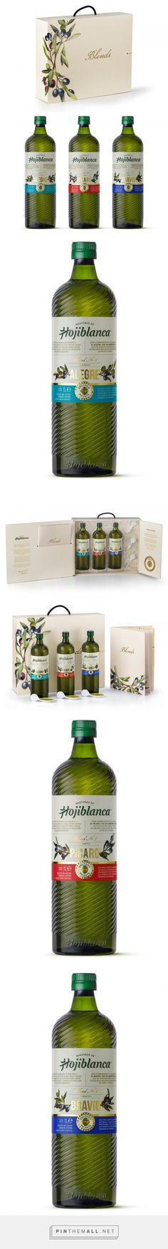 Hojiblanca Blends - Packaging of the World - Creative Package Design Gallery - http://www.packagingoftheworld.com/2017/05/hojiblanca-blends.html