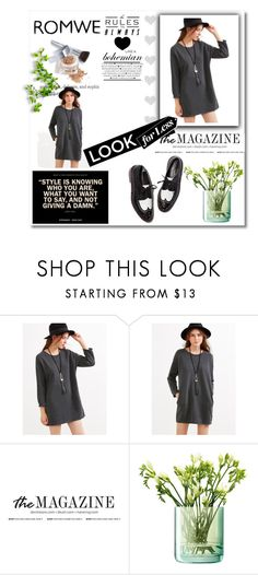 """""""romwe"""" by lu-cyyyyyyyyyy ❤ liked on Polyvore featuring LSA International and Christian Dior"""