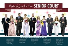 A&M Consolidated High School / Homecoming Court spread