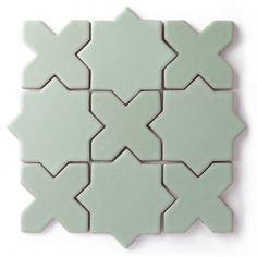 Star & Cross Pattern -- In black or white