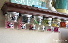 Craft Room Organization and Storage Ideas you can DIY.