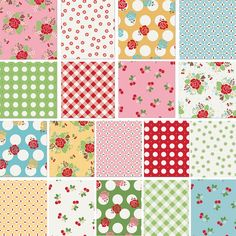 Sew Cherry by Bee in my Bonnet for Riley Blake