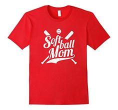 $19.99 Cocomo Soul Softball Mom Shirt - Male Small - Red Cocomo Soul http://www.amazon.com/dp/B01AHMAGUE/ref=cm_sw_r_pi_dp_m3wNwb08YSVPT