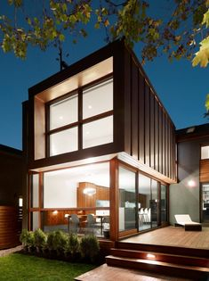 Altius #Architecture designed the #contemporary renovation of a family #home in Toronto, Ontario.