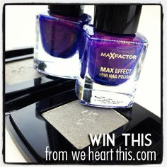#GIVEAWAY: European Holy Grail Beauty Products - Win these cult-favorites! Lancome Erika F. eye shadow and Max Factor Fantasy Fire nail polish!