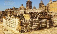 Hallazgo prehispánico: Encuentran un asombroso tzompantli en el número 24 de la calle Guatemala en el Centro Histórico, muy próximo al Templo Mayor.