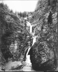 Seven Falls ~ Colorado Springs Colo ~ 1920