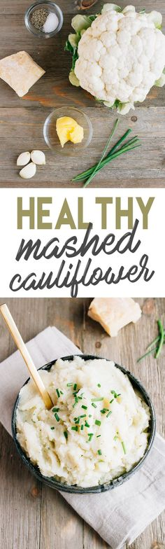 Try Healthy Mashed Cauliflower — a low carb side dish that is as delicious as the real thing! Try Healthy Mashed Cauliflower — a low carb side dish that is as delicious as the real thing! Low Carb Side Dishes, Best Side Dishes, Healthy Side Dishes, Side Dish Recipes, Veggie Recipes, Keto Recipes, Cooking Recipes, Healthy Recipes, Healthy Foods
