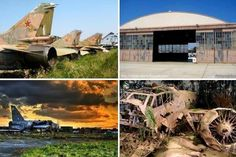 Abandoned Aircraft, Airfields, Airbases and Airport Terminals | Urban Ghosts