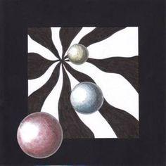 Op-art koule