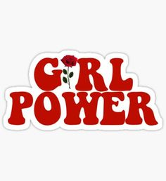 Pegatina GIRL POWER - Style 8