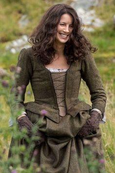 Outlander Claire green