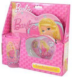 Παιδ.σετ μελαμίνη Barbie
