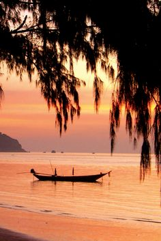 Koh Tao at Sunset, Thailand with Intrepid Travel.
