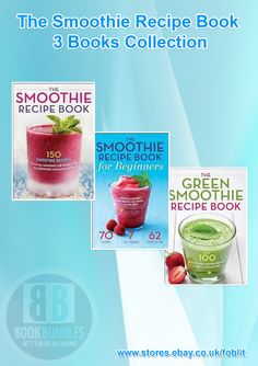 The Smoothie Recipe 3 Books Collection Set at Best Price. Shop now at http://ebay.eu/193Kfkg. #Books #Smoothie #smoothierecipes
