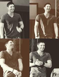 Supernatural Cast - Jensen Ackles - Dean Winchester. GAH!