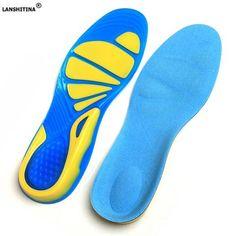 3c928b7476 [EBay] Shock Absorption Pads Arch Orthopedic Insole Silicon Gel Insoles Foot  Care For Plantar
