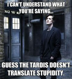 So . . the TARDIS won't, eh? One more reason to love it!