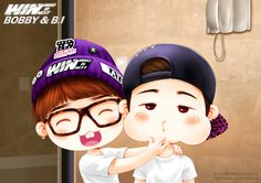 Team B Bobby and B.I fanart