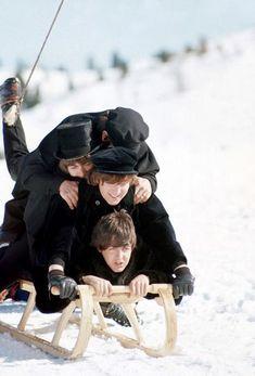 Richard Starkey, George Harrison, John Lennon, and Paul McCartney (The Beatles in Help!)