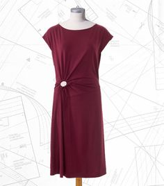 Sewing Lesson: Knot Dress #114 05/2017