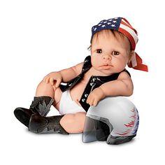 "Dolls & Bears Vtg Baby Toddler Boy Doll W/ Sleepy Eyes Body Large Approx 24"" Beautiful"
