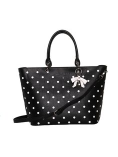 La Belle Tote Bag | Black and Cream | Bag Review Fashion, Black Tote Bag, Black Cream, Small Bags, Accessories Shop, Shopping Bag, Shoulder Strap, Handbags, Black And White