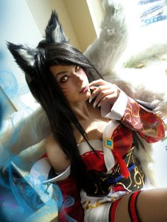 Nackt ahri cosplay League of