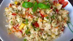 Najlepsze surówki do obiadu! - Blog z apetytem Polish Recipes, Polish Food, Fried Rice, Mozzarella, Food Inspiration, Food And Drink, Snacks, Cooking, Ethnic Recipes