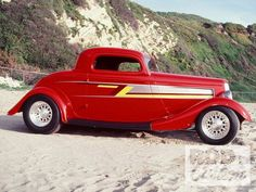 ☆ The ZZ Top Eliminator Hot Rod, a chopped 1933 ☆