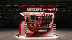 Nescafeَ Booth on Behance
