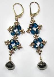 FREE Project: Easy-Peasy Earrings by Jill Wiseman on Youtube featured in Bead-Patterns.com Newsletter!