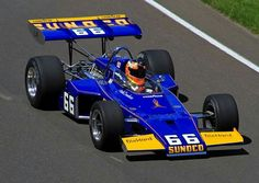 1972 Indianapolis 500 : Mark Donohue, McLaren-Offy M16B #66, Start 3, Sunoco DX, Winner (ph: Hell For Motors)