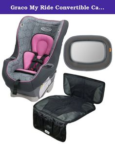 Graco My Ride 65 LX Convertible Car Seat with Auto Seat Protector ...