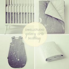 My fave new @dwellstudio crib bedding. Link on profile. Image via @pjfeinstein #baby
