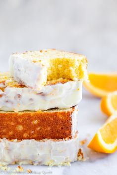 Sweet, soft, and full of orange flavor this orange loaf cake is perfect for an afternoon treat. This loaf cake is made simple and fast then topped with a gorgeous orange glaze. Funnel Cakes, Orange Recipes, Lemon Recipes, Healthy Recipes, Chocolate Lasagne, Chocolate Cake, Sorbet, Lemon Loaf Cake, Pound Cake