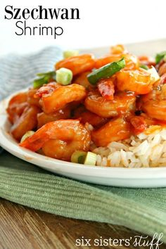 Looking for a new shrimp recipe? This one was a huge hit with my family! If you are looking to make it a little healthier, put it on top of some cooked quinoa! It is delicious!    Print  Szechwan Shri