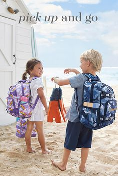 Our backpacks and lunch bags are ready for any adventure with spill-proof material and sturdy straps and zippers.