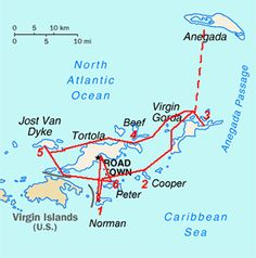 A 7 day sailing itinerary holiday charter in the BVI, from Tortola to Anegada and Foxys and Soggy Dollar Bar on Jost Van Dyke Bvi Sailing, Sailing Trips, Sailboat Charter, Virgin Gorda, Vacation Trips, Yacht Vacations, Sailing Adventures, St Thomas, British Virgin Islands