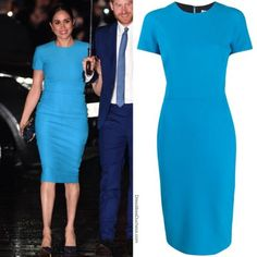 it, a shopping discovery app that allows you to instantly shop your favorite influencer pics across social media and the mobile web. Megan Markle Dress, Meghan Markle Outfits, Meghan Markle Style, Cowgirl Style Outfits, Baby Blue Dresses, Princesa Diana, Pencil Dress, Fashion Outfits, Womens Fashion
