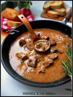Ternera a la griega | Cocinar en casa es facilisimo.com