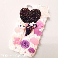 Custom+Sailor+Moon+Kawaii+Decoden+Phone+Case+for+by+YYKawaii,+$25.00