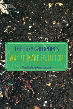 We all know that we should fertilize our gardens regularly, but many of us are unsure of how to do it properly and safely without the use of chemical fertilizers. After all, those chemical fertilizers have a label with specific directions, while organic m Organic Gardening Tips, Organic Fertilizer, Garden Fertilizers, Organic Pesticides, Organic Compost, Growing Herbs, Growing Vegetables, Garden Compost, Vegetable Gardening